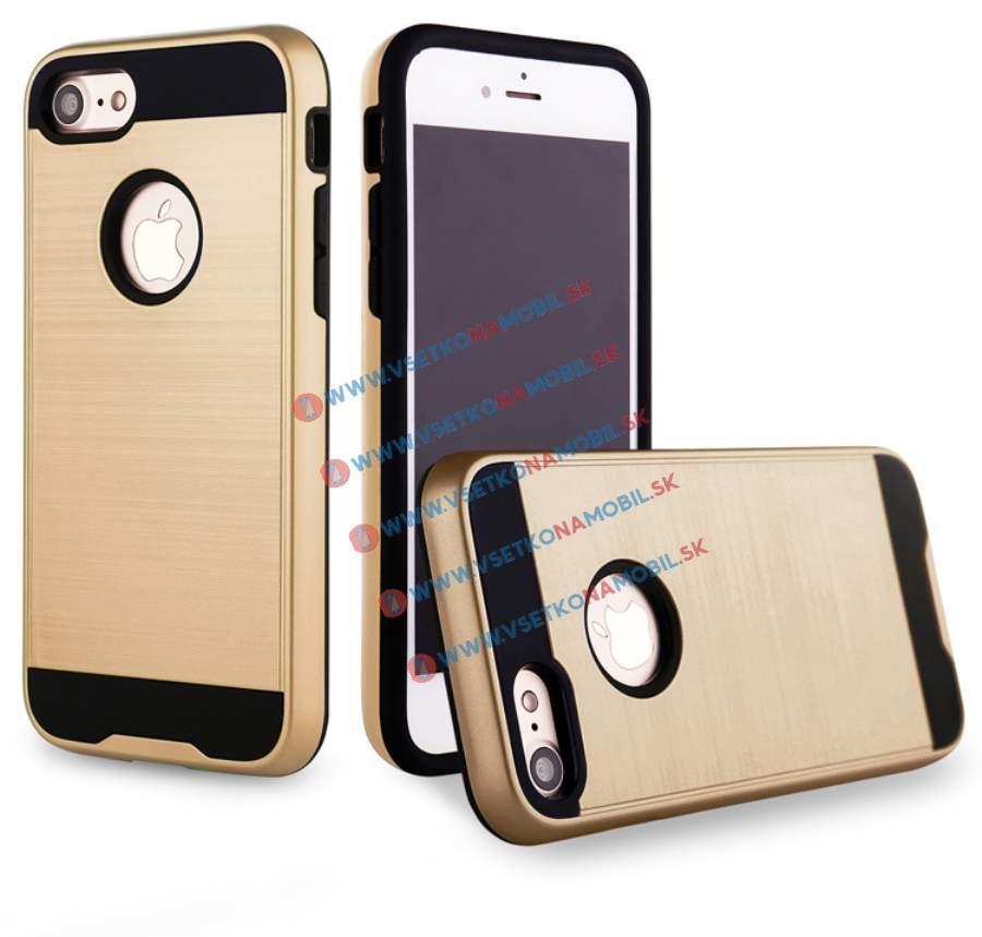 FORCELL PANZER Ochranný obal Apple iPhone 7 zlatý