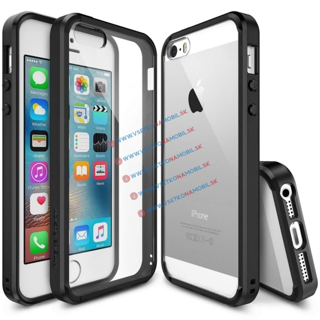 RINGKE FUSION Apple iPhone 5 / 5S / SE čierny