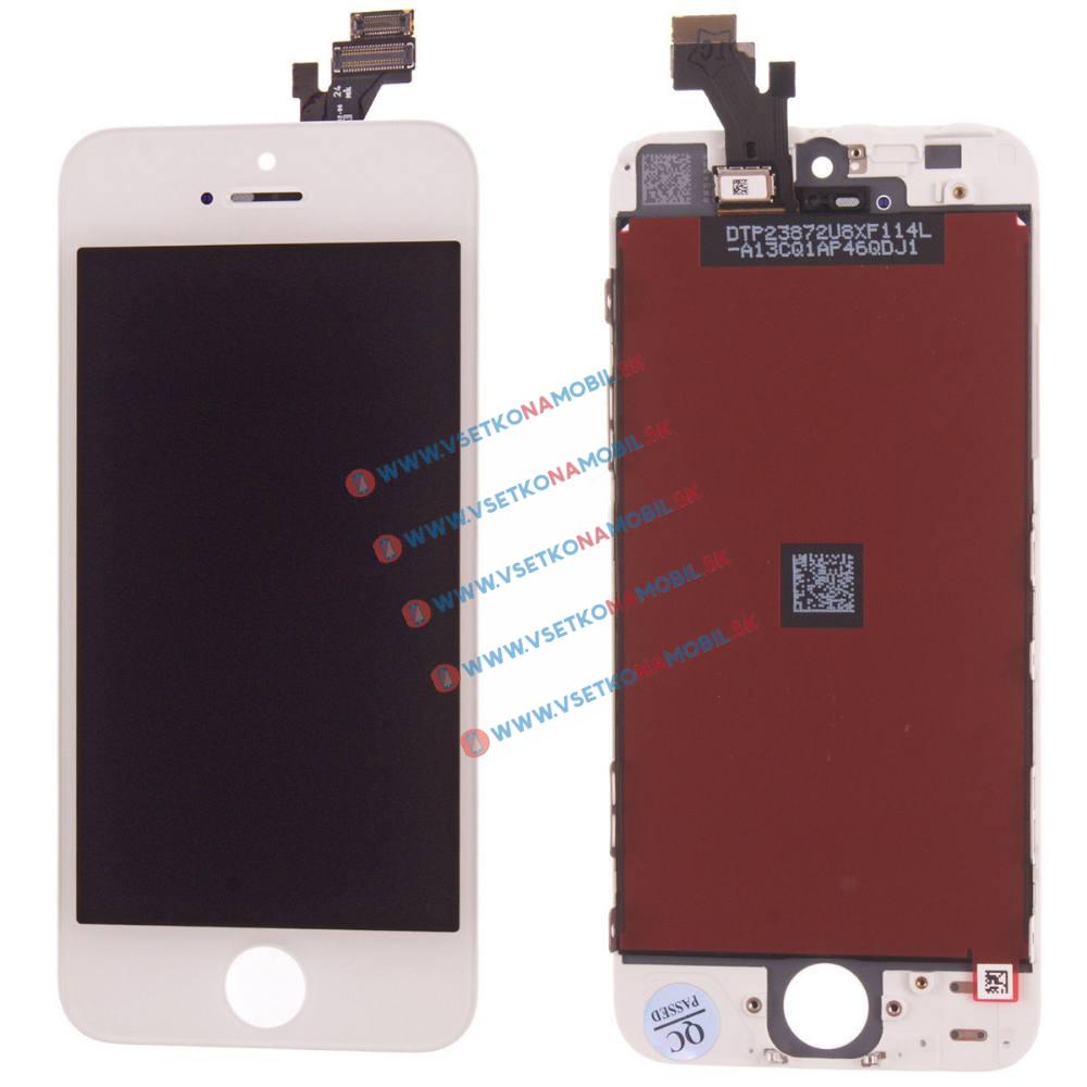 Apple iPhone 5 LCD Displej + dotyková plocha OEM biely
