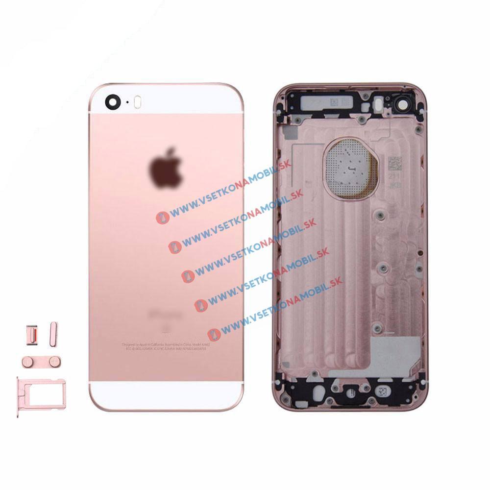 UNBRANDED Apple iPhone SE zadný kryt ružový (rose gold)