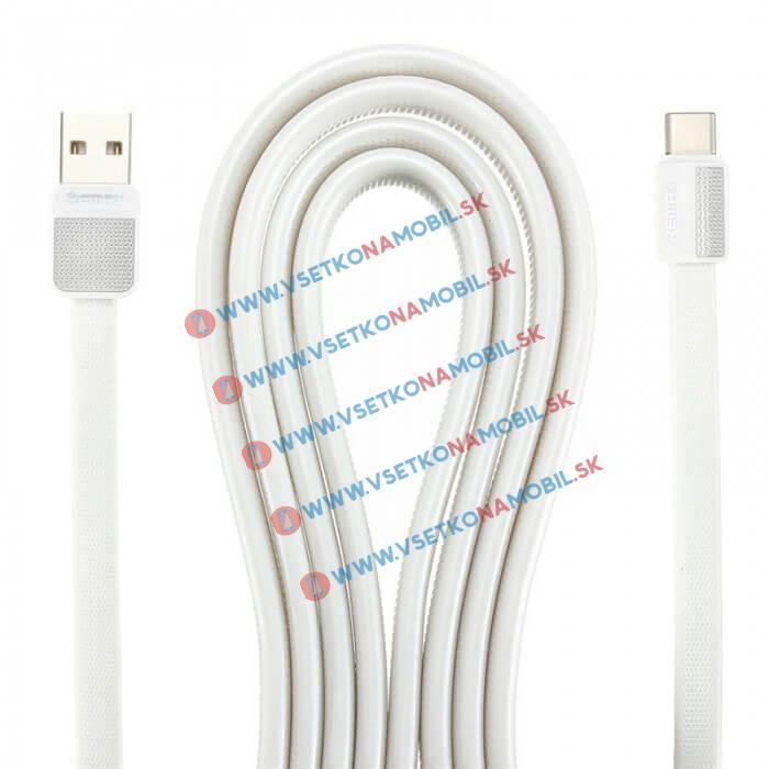 REMAX PLATINUM Dátový kábel USB Typ-C biely