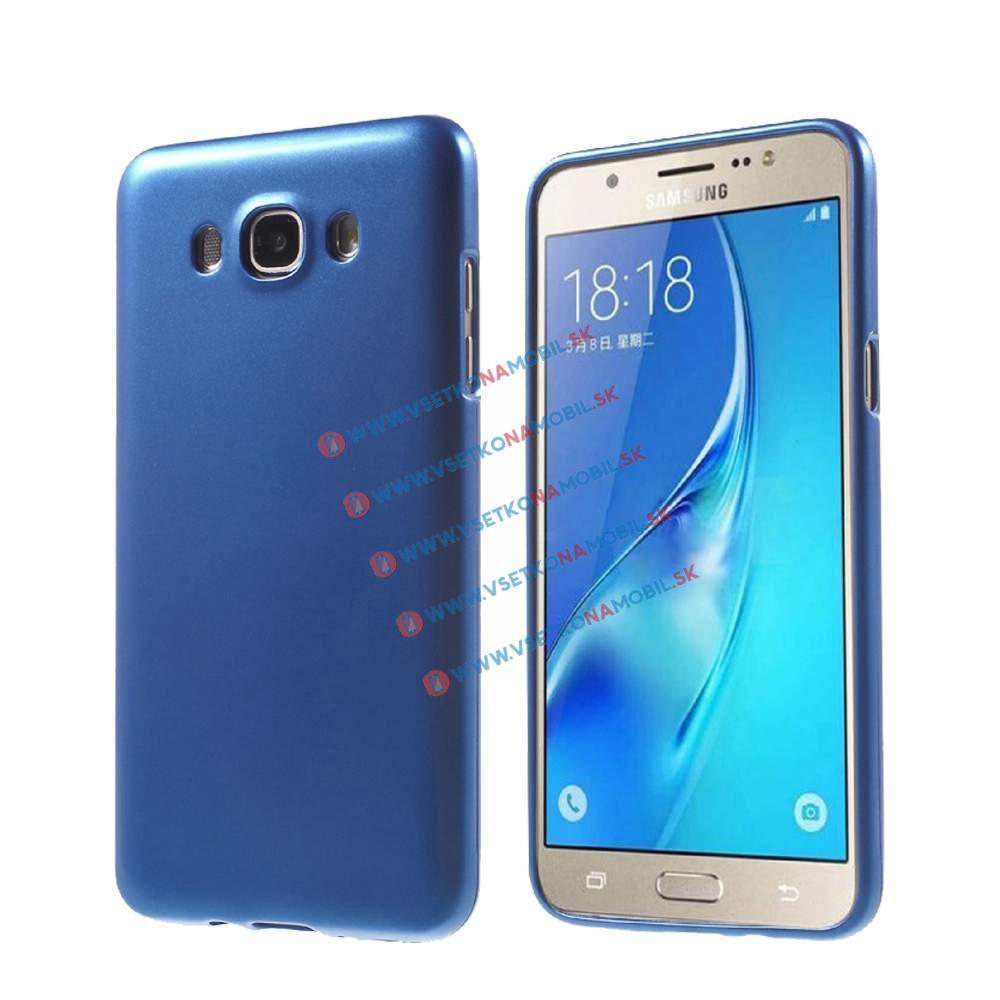 FORCELL JELLY TPU obal Samsung Galaxy J7 2016 (J710) modrý
