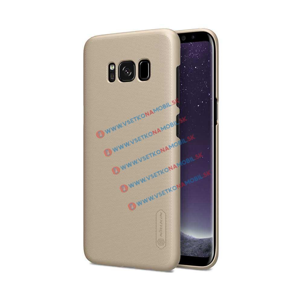 NILLKIN FROSTED Samsung Galaxy S8 + ochranná fólia zlatý