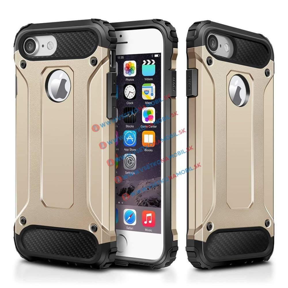 FORCELL TOUGH Ochranný Obal Apple iPhone 7 zlatý