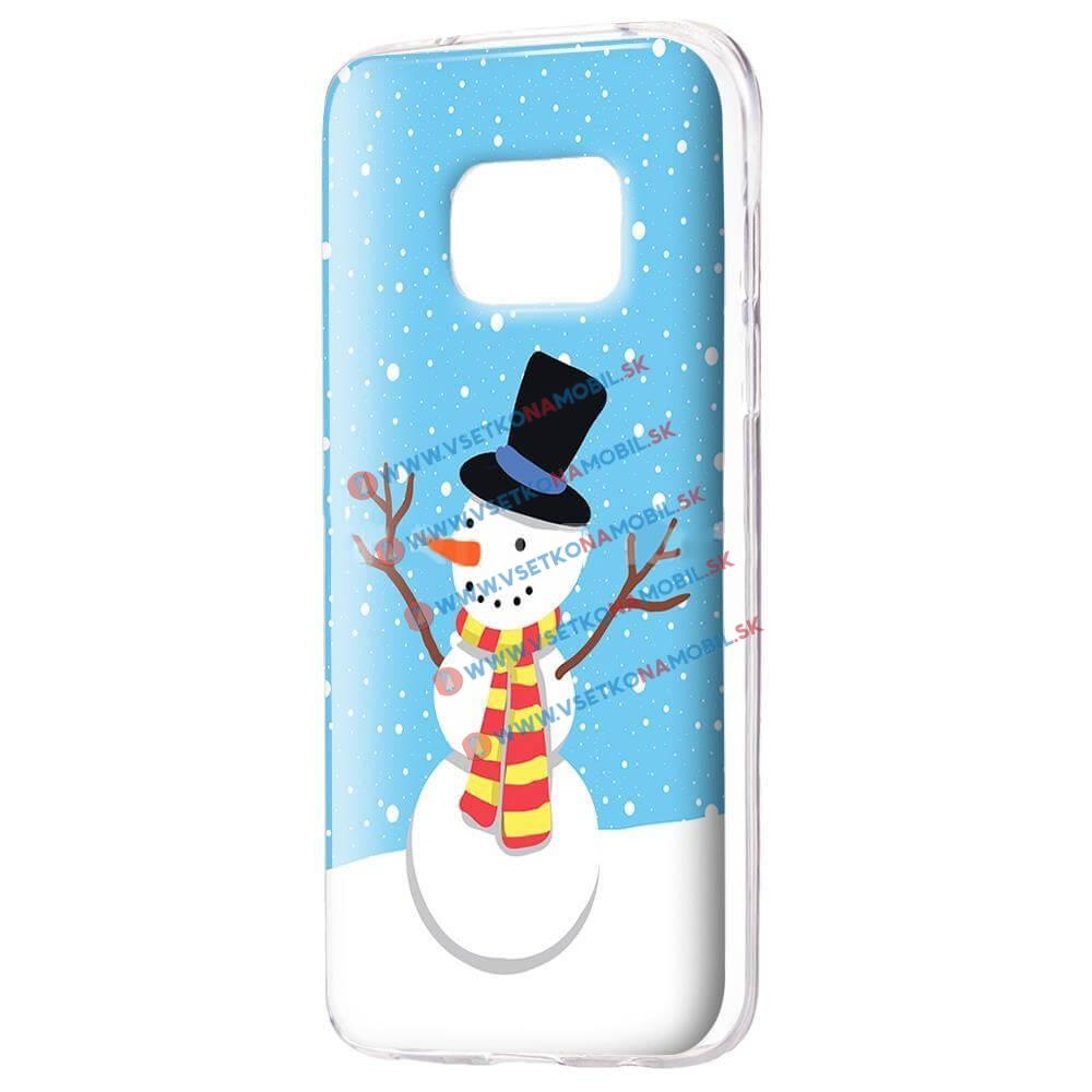 FORCELL ART TPU Obal Samsung Galaxy S7 Edge SNOWMAN