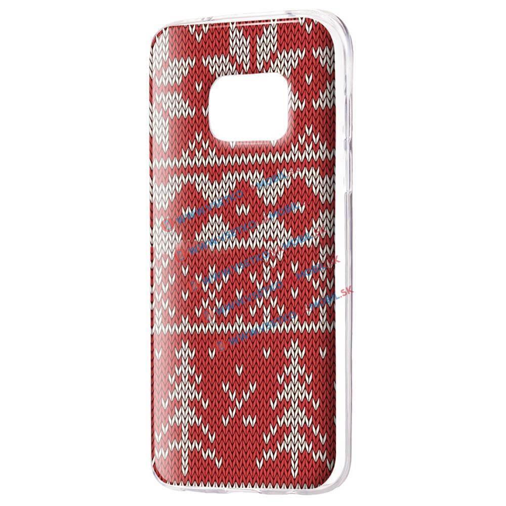 FORCELL ART TPU Kryt Samsung Galaxy S7 Edge CHRISTMAS