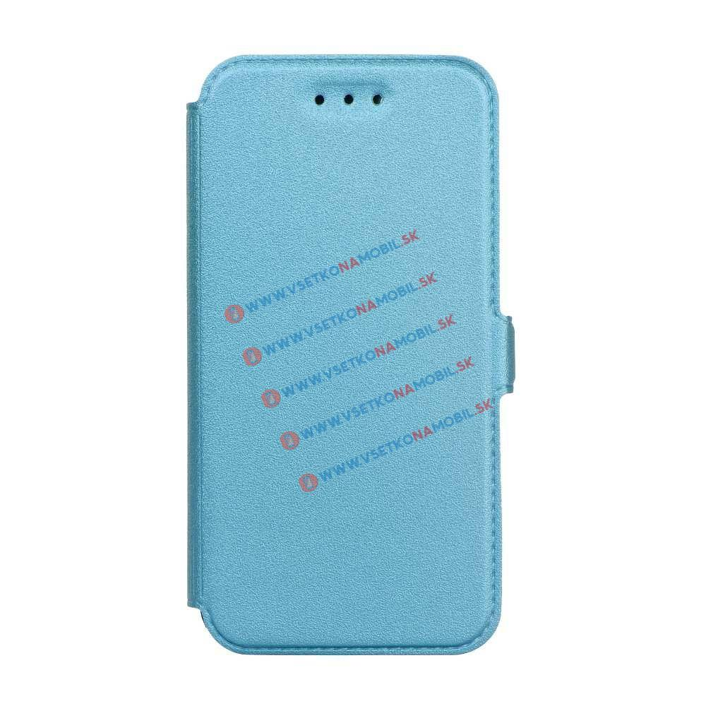 SMOOTH Ultratenký flip obal Samsung Galaxy A5 2017 (A520) modrý