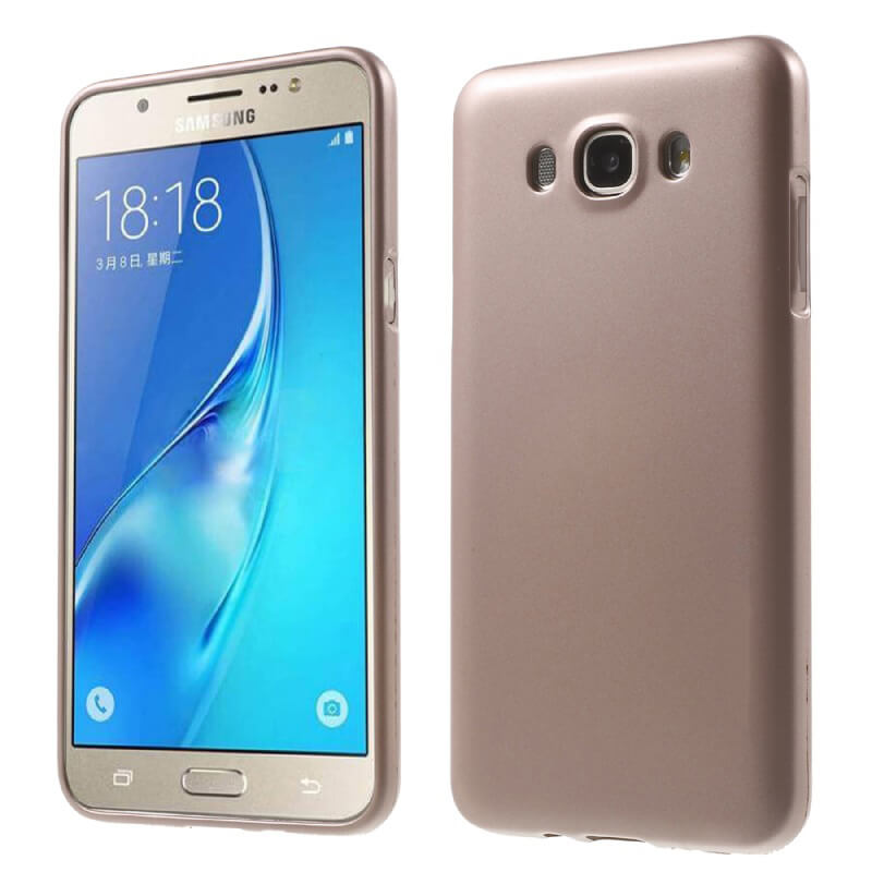 FORCELL JELLY TPU obal Samsung Galaxy J5 2016 (J510) zlatý