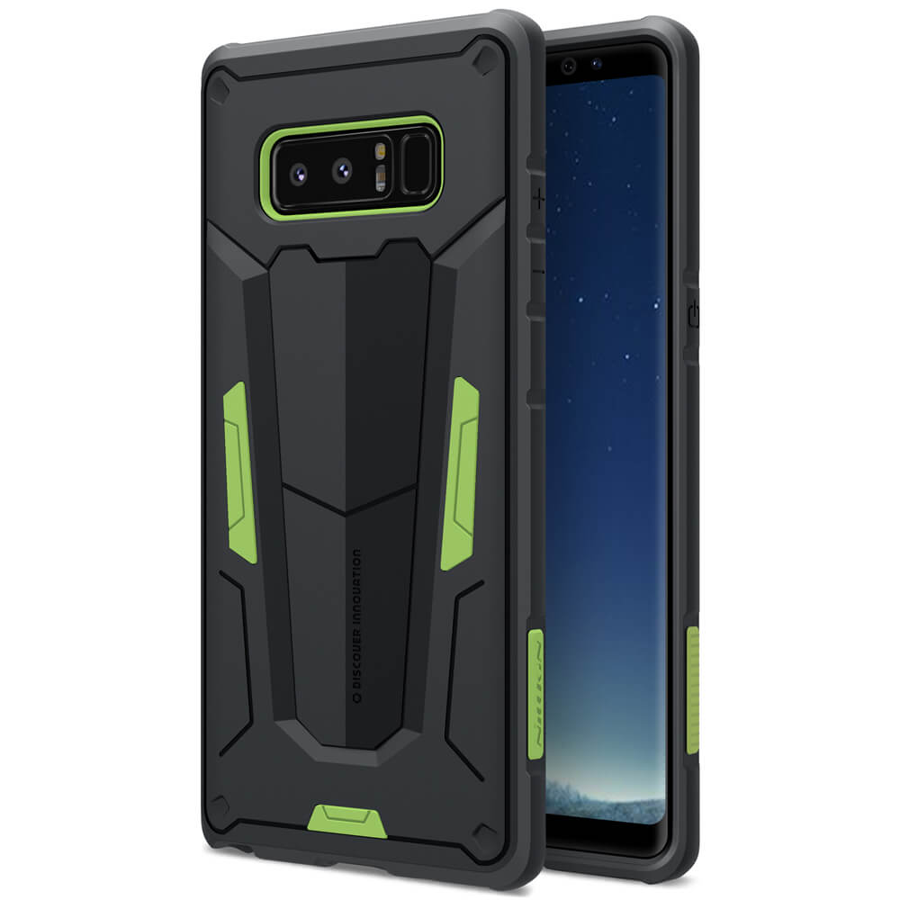 NILLKIN DEFENDER II Samsung Galaxy Note 8 zelený