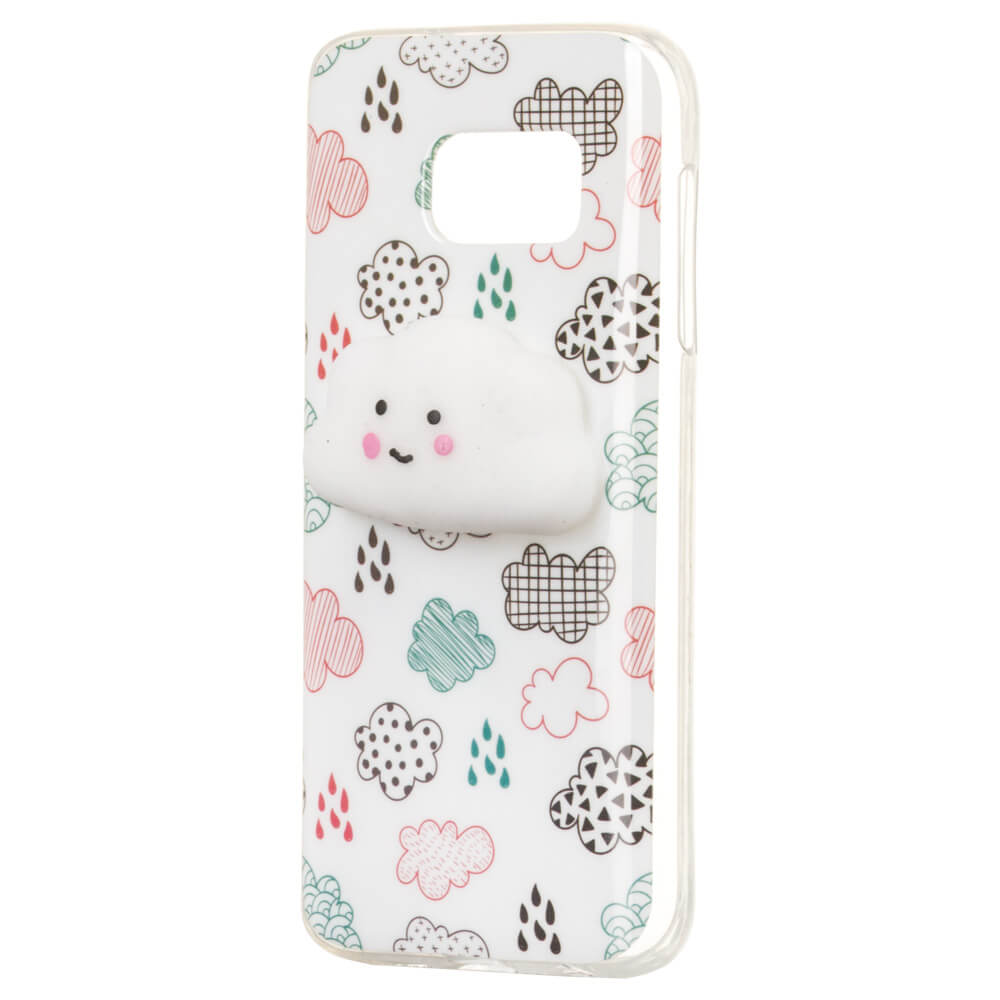 FORCELL 4D ANIMAL Silikónový obal Samsung Galaxy S7 CLOUD