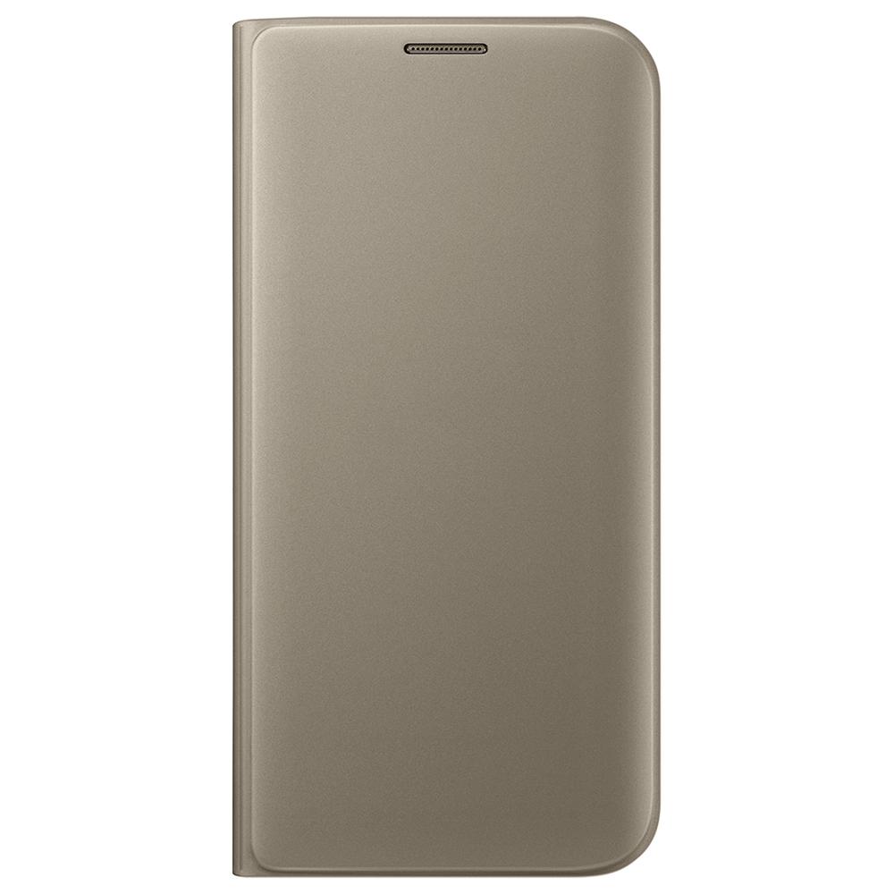 SAMSUNG FLIP WALLET Samsung Galaxy S7 Edge zlatý