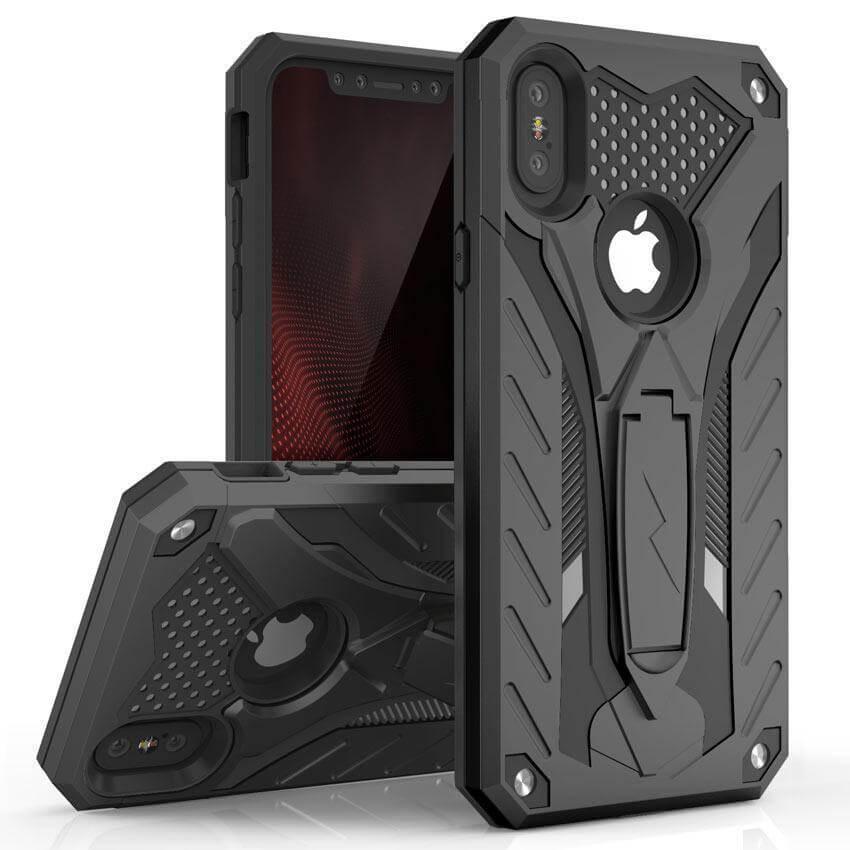 ZIZO STATIC Extra odolný kryt Apple iPhone X / XS čierny