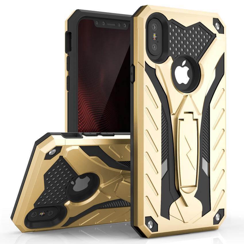 ZIZO STATIC Extra odolný kryt Apple iPhone X / XS zlatý