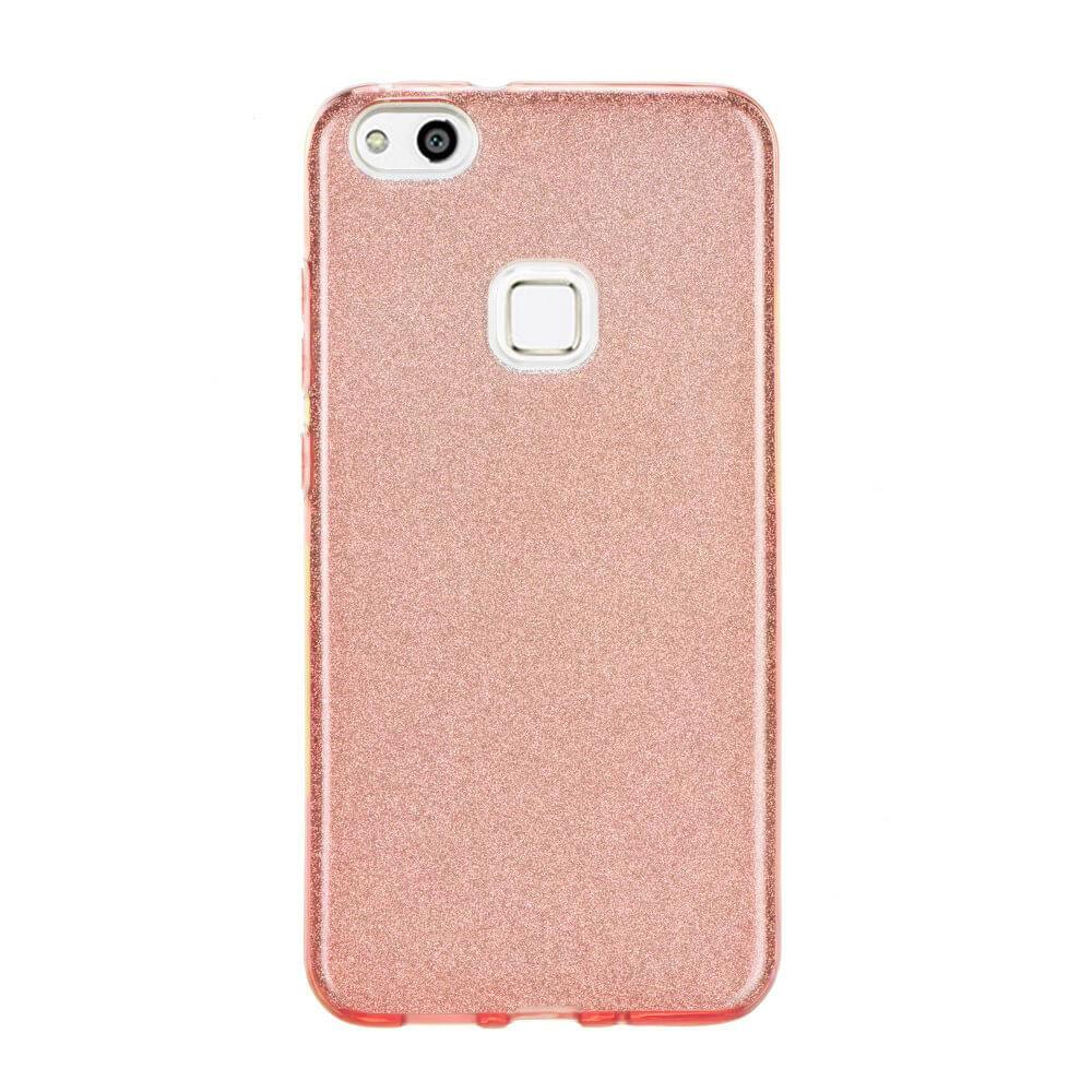 FORCELL SHINING Ochraný obal Huawei P10 Lite ružový