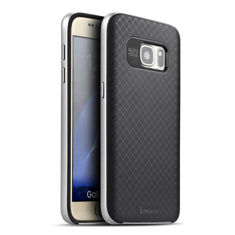 IPAKY BUMBLEBEE obal Samsung Galaxy S7 strieborný