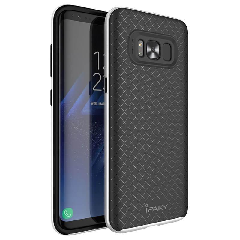 IPAKY BUMBLEBEE obal Samsung Galaxy S8 Plus strieborný