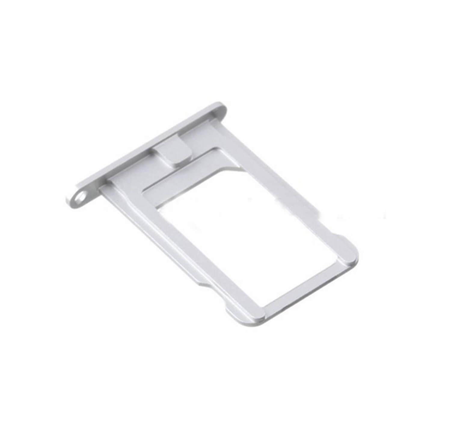 UNBRANDED SIM Slot - Apple iPhone 5S - strieborný