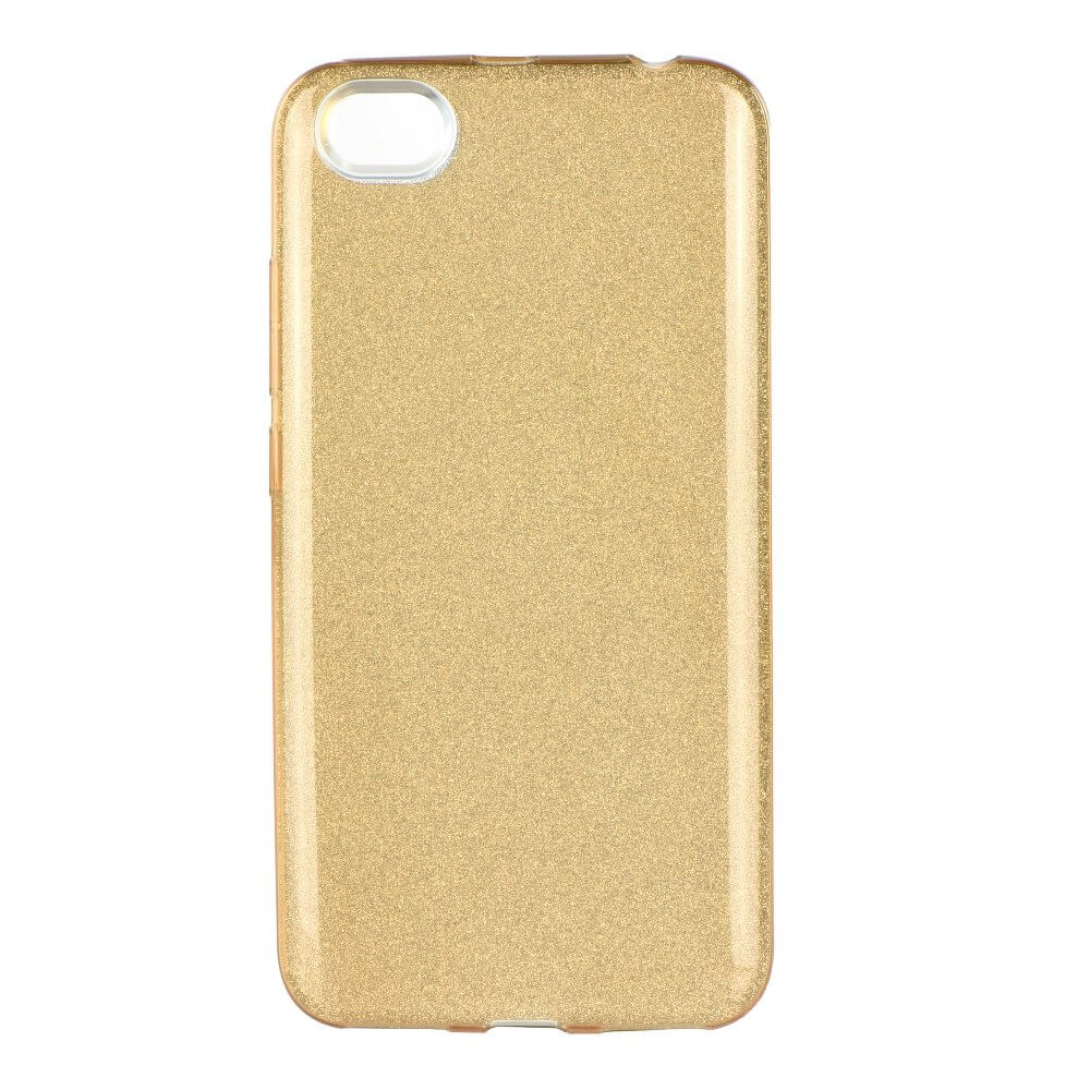 FORCELL SHINING Ochraný obal Xiaomi Redmi Note 5A zlatý