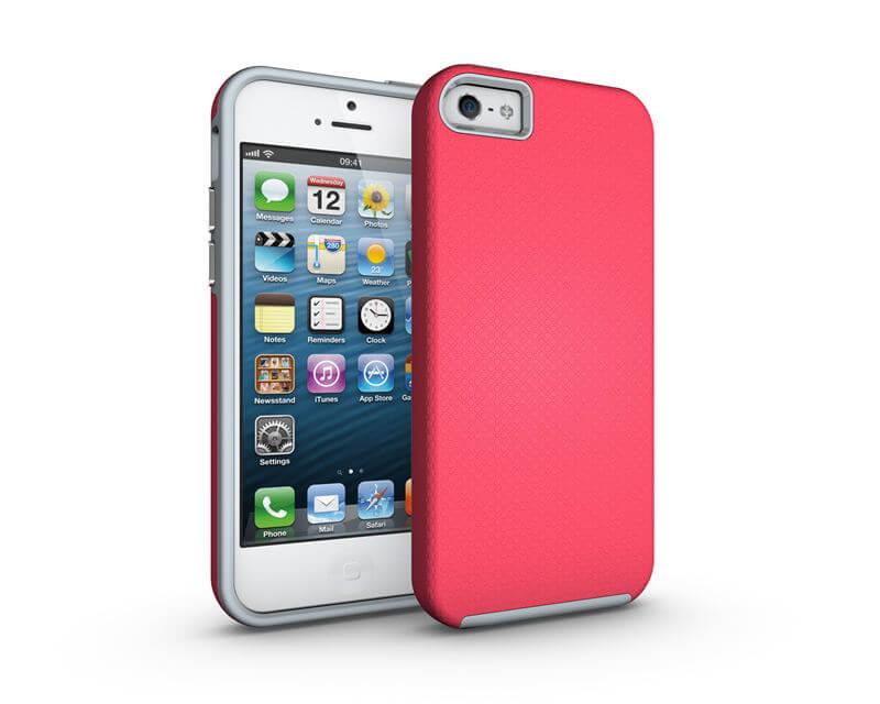 FORCELL HYBRID odolný kryt Apple iPhone 5 / 5S / SE ružový