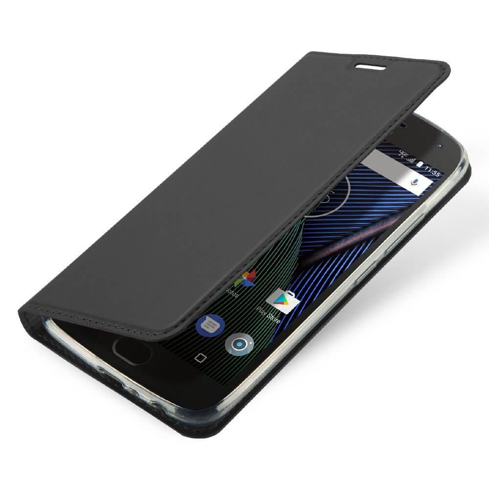 FORCELL DUX Flipové púzdro Lenovo Moto G5S Plus šedé