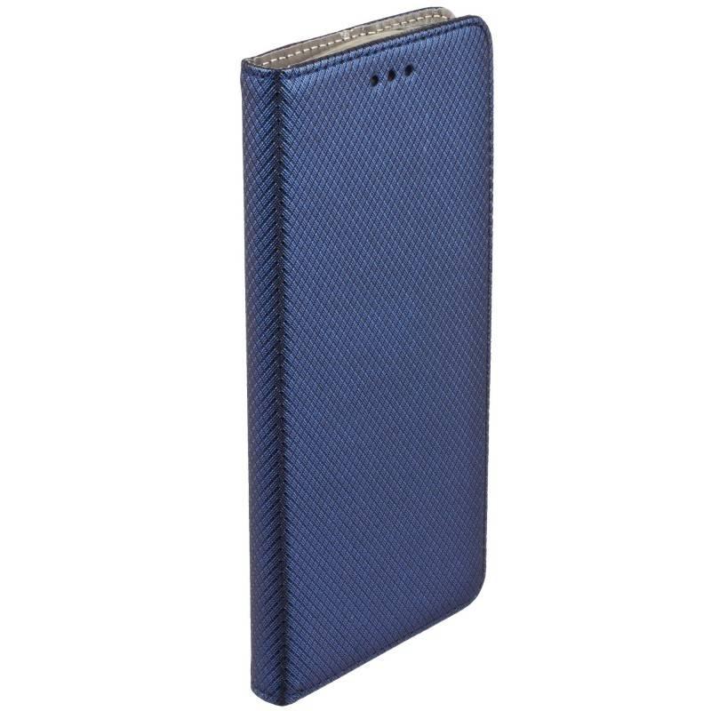 FORCELL MAGNET Knižkové púzdro Huawei P8 lite modré