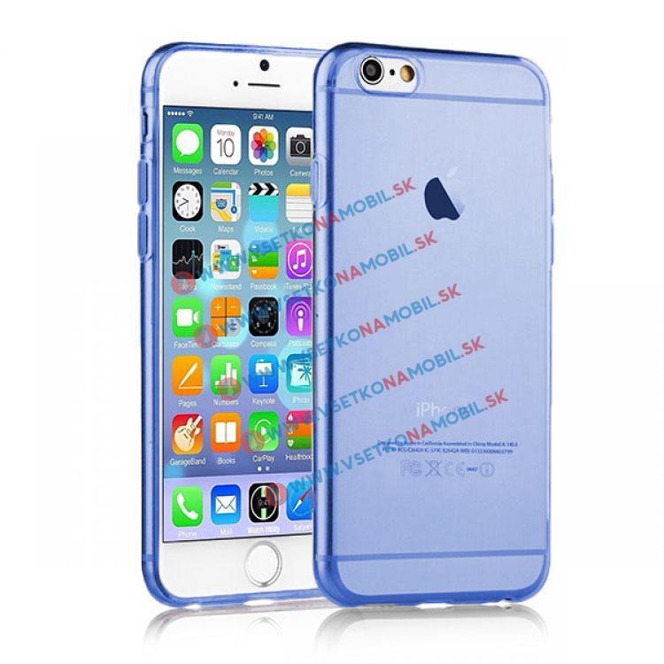 FORCELL Silikónový kryt iPhone 6 Plus / 6S Plus modrý