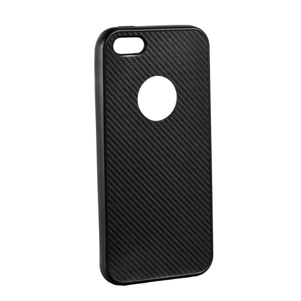 FORCELL FIBER Ochranný obal Apple iPhone 5 / 5S / SE čierny