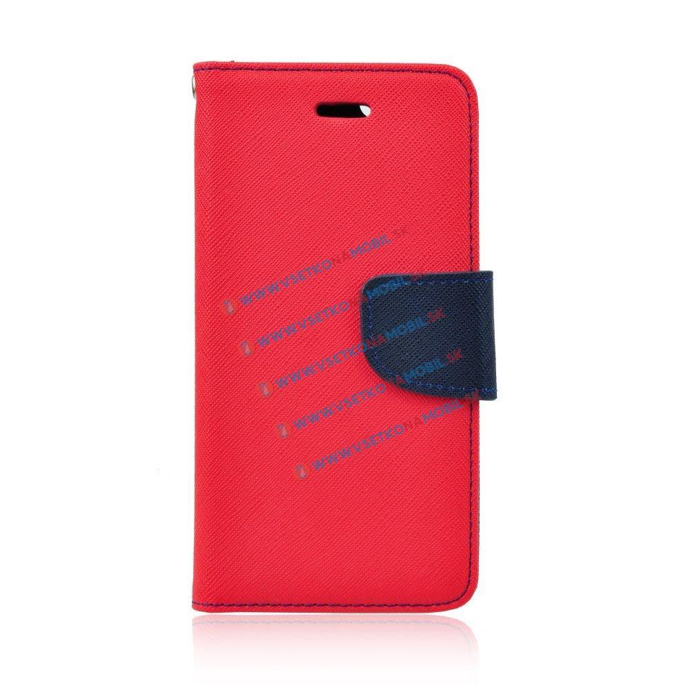 FORCELL Peňaženkové flip púzdro Lenovo Vibe P1 červené