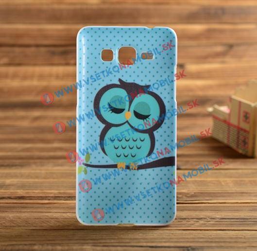 Plastový kryt Samsung Galaxy Core 2 OWL