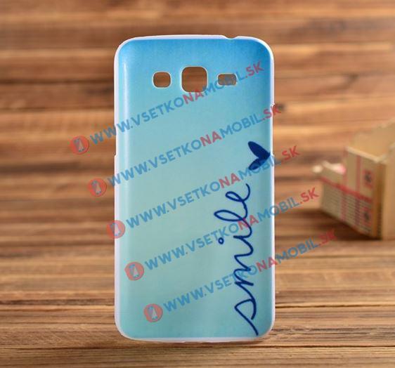 Plastový kryt Samsung Galaxy Core 2 SMILE