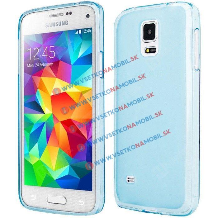 FORCELL Silikónový obal Samsung Galaxy S5 mini modrý