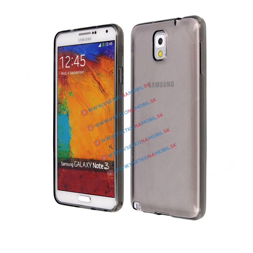 FORCELL Silikónový obal Samsung Galaxy Note 4 šedý