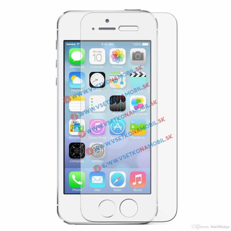 FORCELL Ochranné temperované (tvrdené) sklo Apple iPhone 5 5S SE 5C