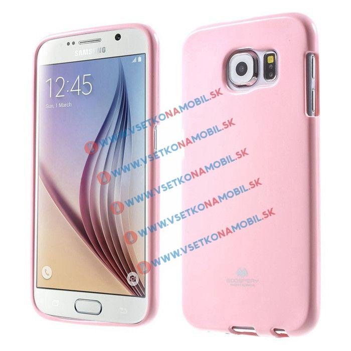 MERCURY obal Samsung Galaxy S6 ružový