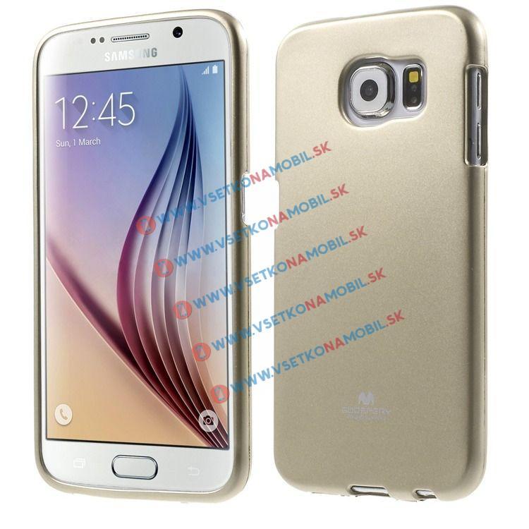 MERCURY obal Samsung Galaxy S6 zlatý