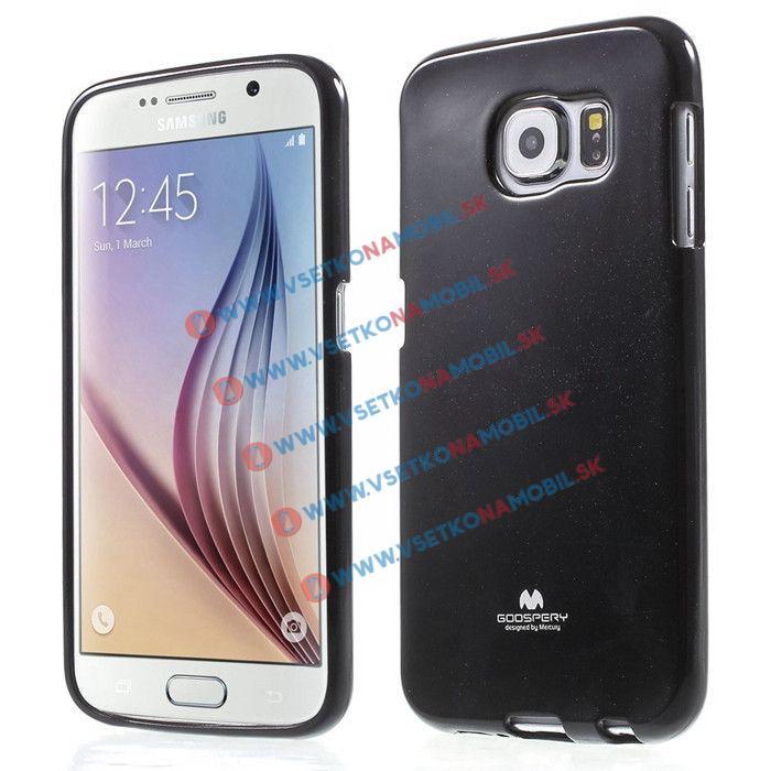 MERCURY obal Samsung Galaxy S6 čierny
