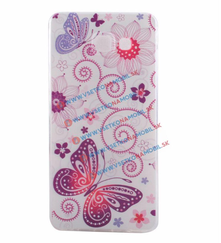Silikónový obal Samsung Galaxy A5 2016 BUTTERFLIES