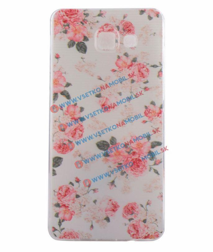 FORCELL Silikónový obal Samsung Galaxy A3 2016 FLOWERS
