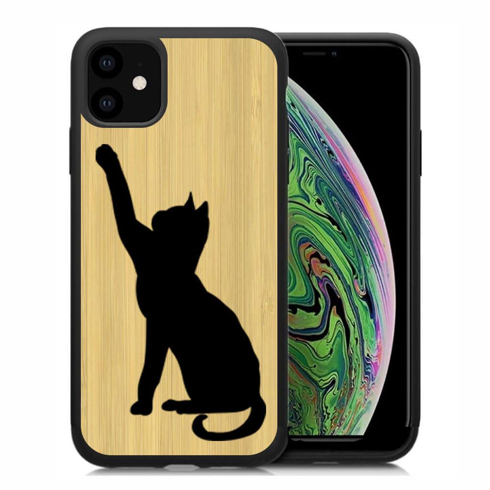 FORCELL BAMBOO Drevený kryt Apple iPhone 11 CAT (085)