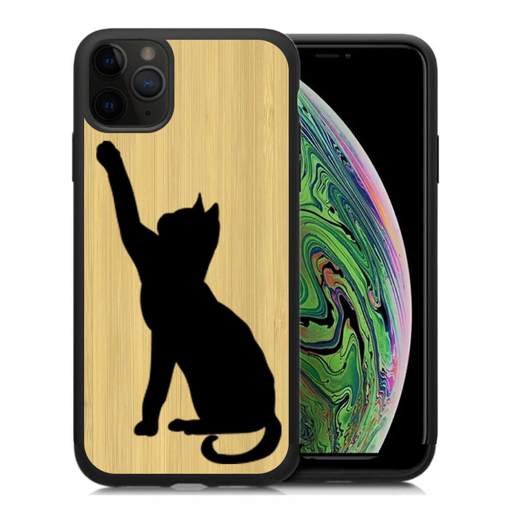 FORCELL BAMBOO Drevený kryt Apple iPhone 11 Pro CAT (085)