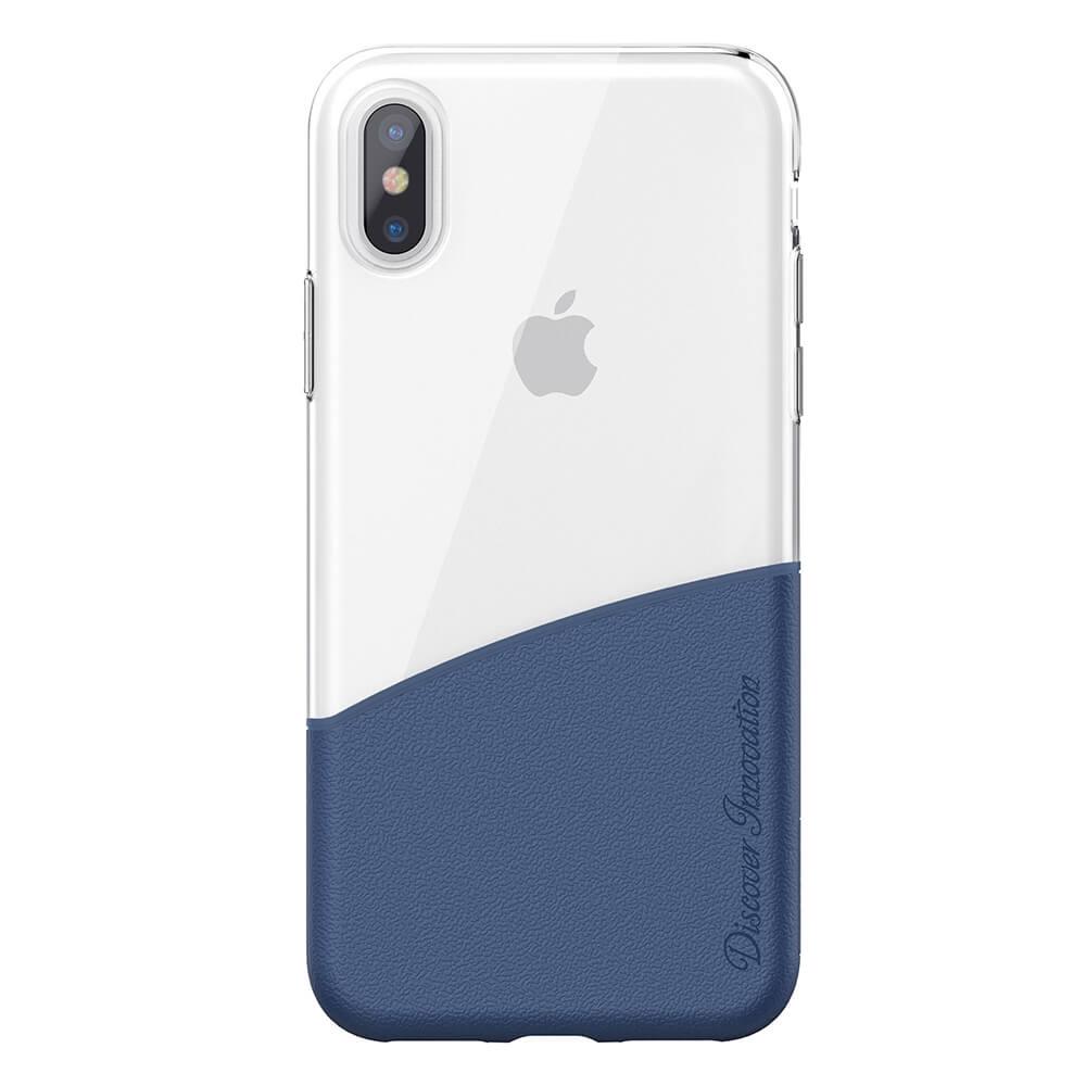 NILLKIN HALF plastový obal Apple iPhone X / XS modrý