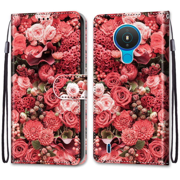 FORCELL ART Peňaženkový kryt Nokia 1.4 ROSES