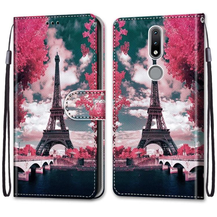 FORCELL ART Peňaženkový kryt Nokia 2.4 PARIS