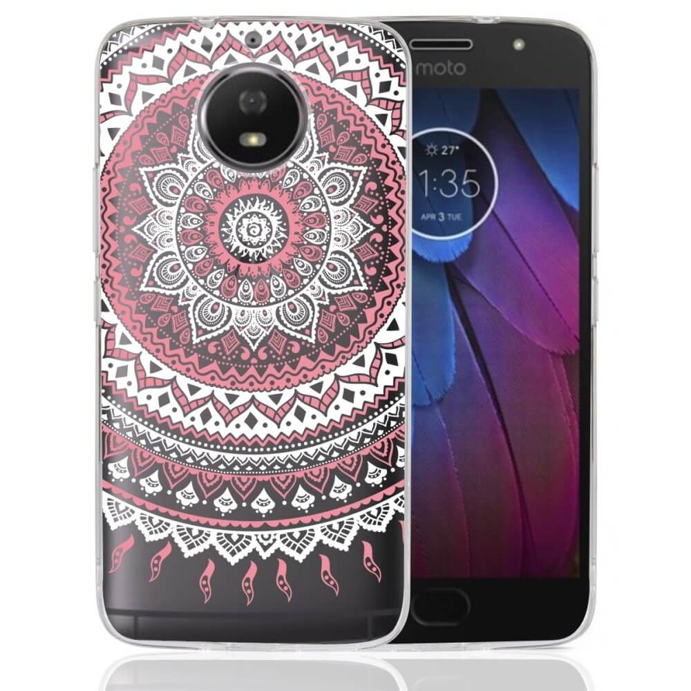 FORCELL ART TPU obal Lenovo Moto G5S ružový
