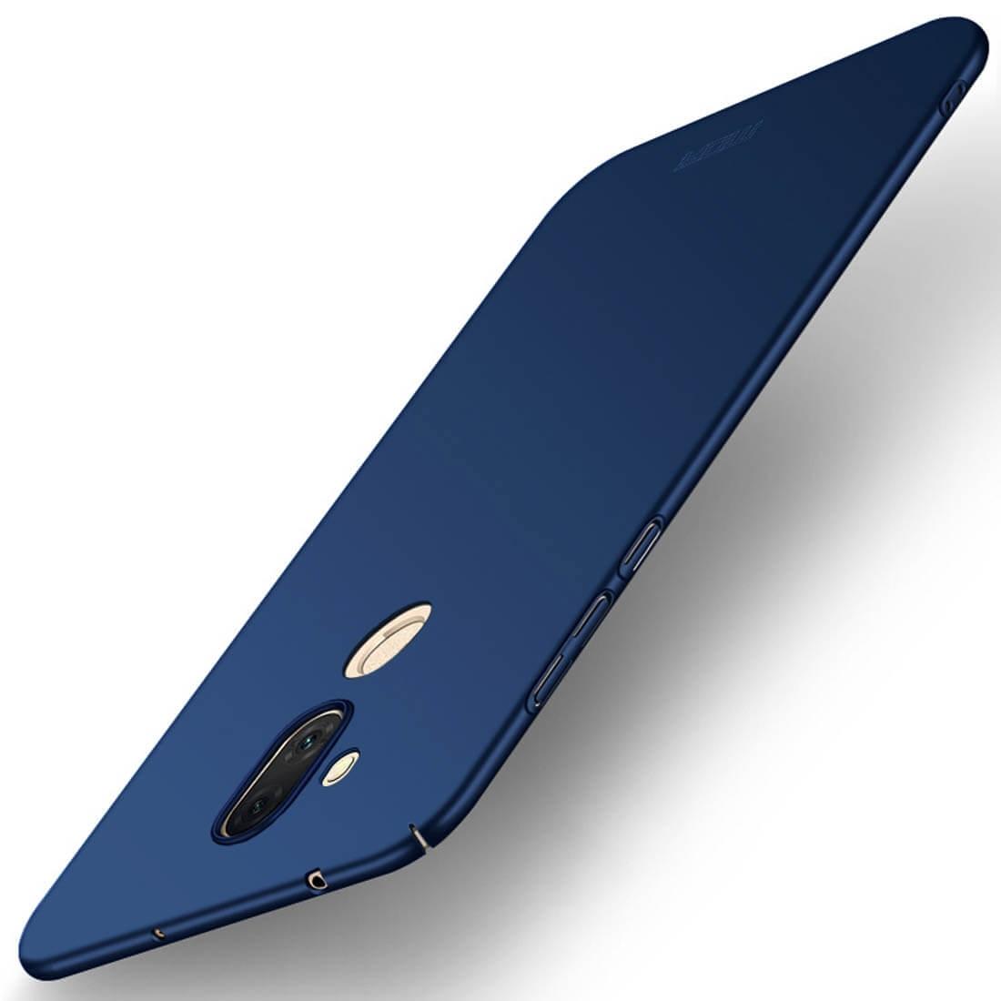 MOFI Ultratenký obal Asus Zenfone 5 Lite (ZC600KL) modrý