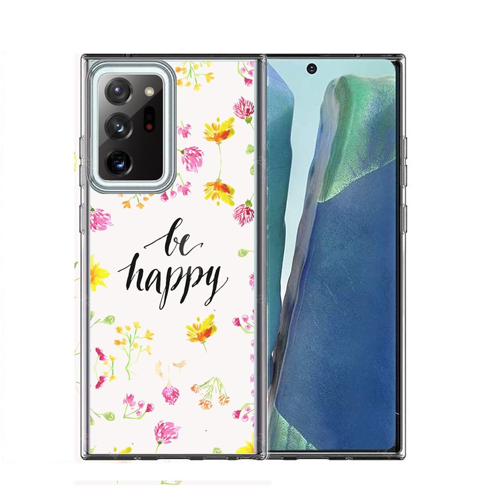 FORCELL MY ART Ochranný kryt Samsung Galaxy Note 20 BE HAPPY (019)