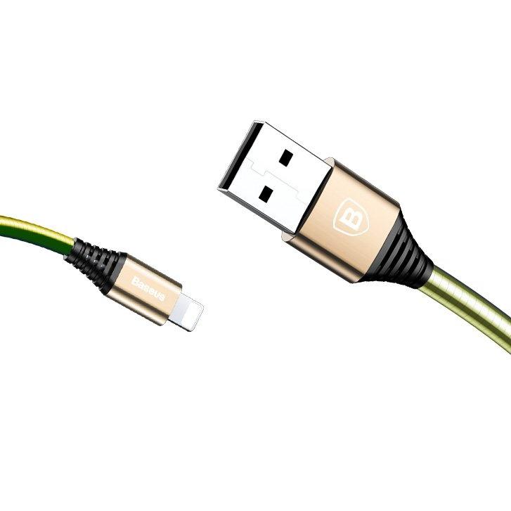 BASEUS DISCOLOR Lightning kábel 1m čierny