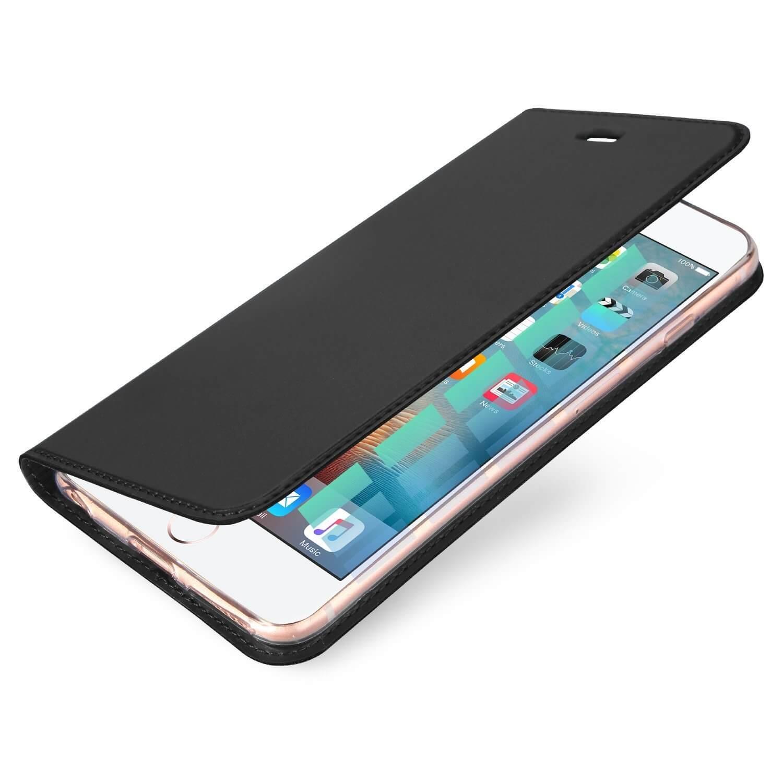 DUX Flipové puzdro Apple iPhone 6 / 6S šedé