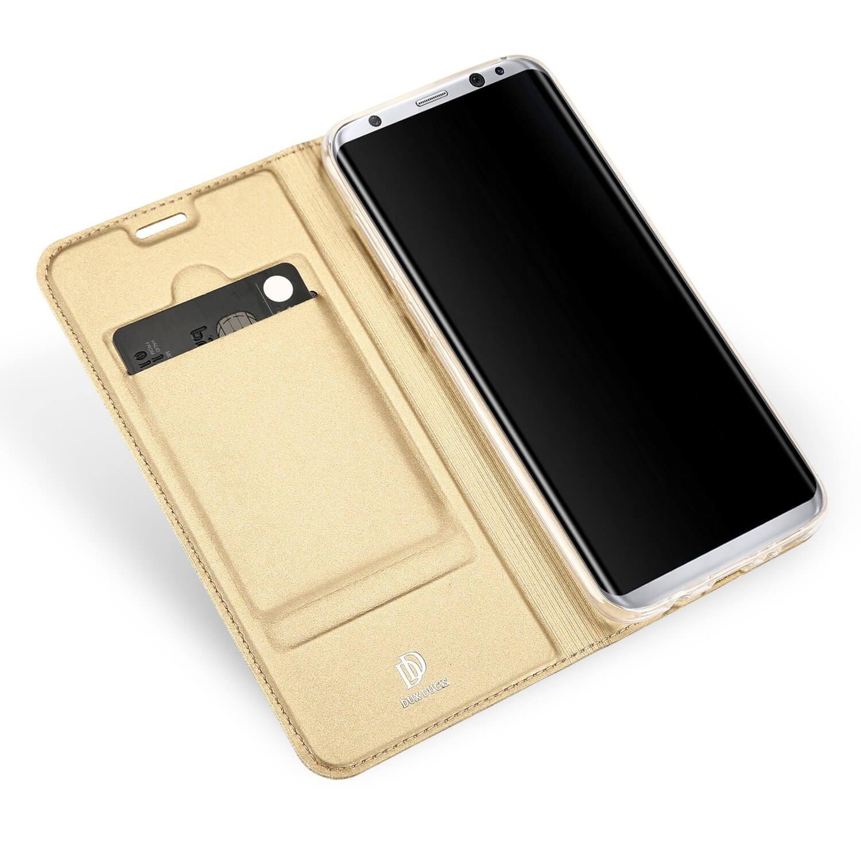 DUX Flipové púzdro Samsung Galaxy S8 Plus zlaté