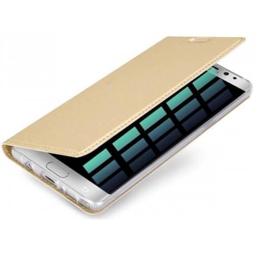 DUX Flipové púzdro Samsung Galaxy S7 Edge zlaté
